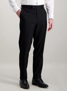 Online Exclusive Black Slim Fit Tuxedo Dinner Suit Trousers