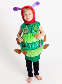 The Very Hungry Caterpillar Green Costume (1-8 years)