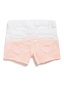 Multicoloured Ombre Denim Shorts (3-14 years)