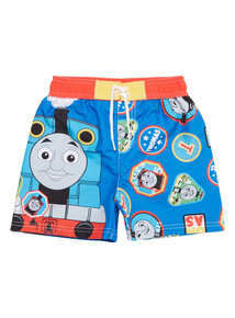 Boys Multicoloured Thomas The Tank Swim Shorts (9 months - 5 years)