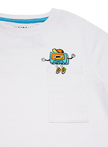 3 Pack Multicoloured Monster T-shirts (3-14 years)