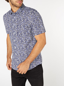 Multicoloured Floral Print Shirt