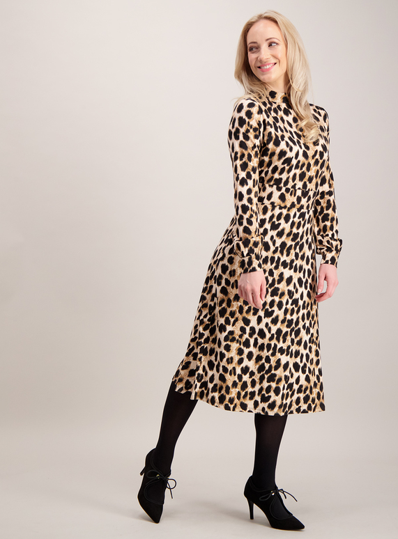 854dd52aa4 Womens Online Exclusive PETITE Multicoloured Animal Print Jersey Dress