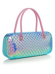 Pink Mermaid Texture Sunglasses Case
