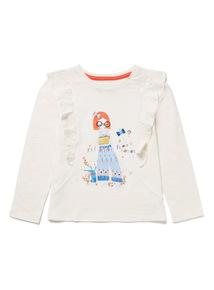 Cream Girl Hero Top (9 months-6 years)