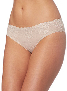 Lace Front Brazilian Briefs 2 Pack