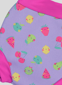 Banana Bite Multicoloured Swim Nappy Cover (3- 18 KGS)
