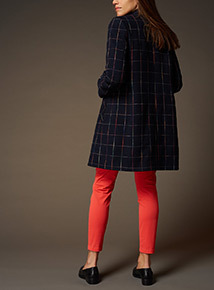Premium Check Pattern Coat