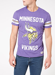 Purple NFL Vikings Tee