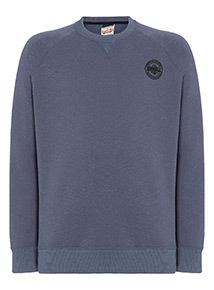 Russell Athletic Navy Logo Sweatshirt