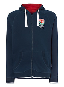 Official Licensed England Rugby Navy Hoodie