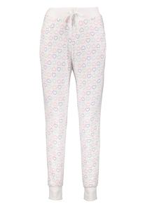 Multicoloured Heart Print Hareem Pyjama Bottoms
