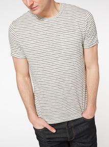 Cream Stripe T-shirt