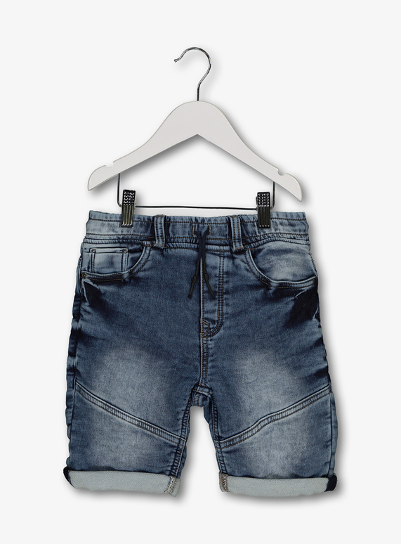 faea068b9c4 Kids Blue Denim Turn Up Shorts (3-14 years) | Tu clothing