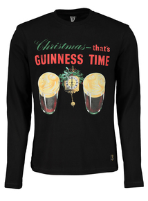 Online Exclusive Christmas Guinness Time T-Shirt