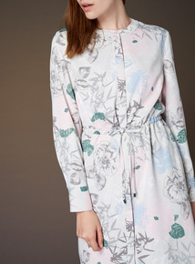 Premium Printed Shirt Dress