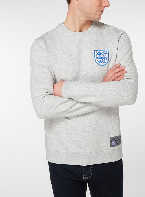 Official England Grey Sweatshirt