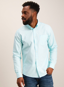 Online Exclusive Turquoise Regular Fit Shirt