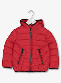 Red Puffer Jacket (9 Months - 6 Years)