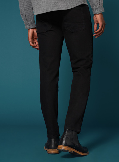 Premium Black Tapered Jean