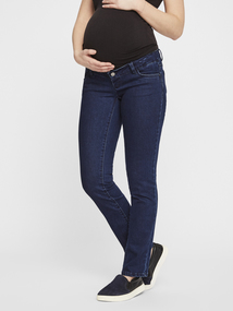 7c5668a40 MAMALICIOUS Maternity Blue Slim Fit Jeans