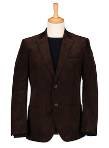 Brown Cord Blazer