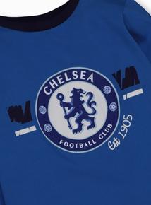 Online Exclusive Chelsea Football Club Blue Pyjamas (2-12 Years)