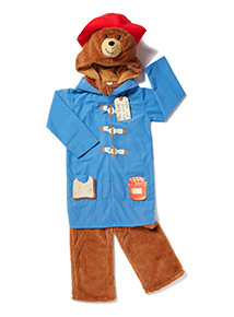 Blue Paddington Bear Costume (3-12 years)