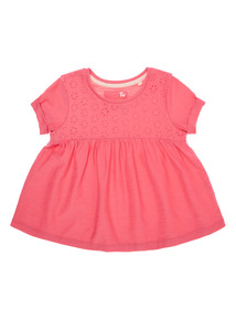 Girls Pink Top (9 months-6 years)