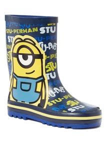 Minions Print Welly (6 Infant - 2)