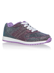 Girls Sparkle Trainers