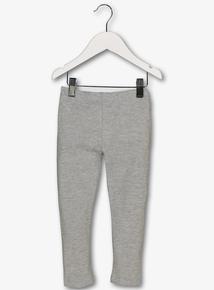Grey Marl Cotton Rich Leggings (9 Months - 5 Years)