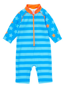 Blue Stripe & Stars Sunsafe (1-4 years)