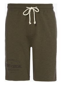 Khaki Plain Shorts