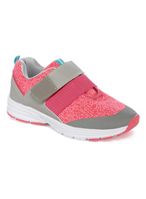 Velcro Knit Trainers