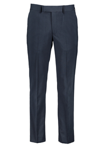 Navy  Dogtooth Suit Trouser