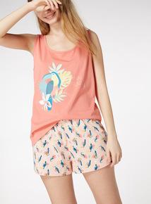 Toucan Print Pyjama Set