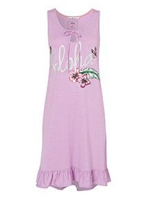 Aloha Print Nightdress
