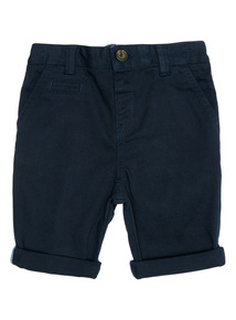 Navy Chino Shorts (9 months - 6 years)