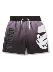Grey Disney Star Wars Swim Shorts (3-12 years)