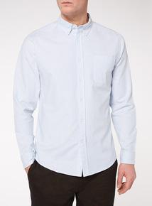 Blue Bengal Stripe Stretch Oxford Shirt