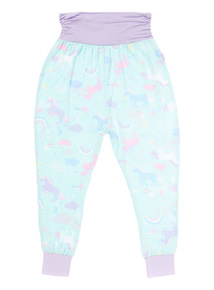 Multicoloured Unicorn Hareem Trousers
