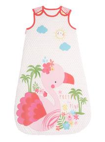 Pink Flamingo Sleeping Bag (0 - 24 months)