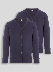 Navy Sweat Cardigans (3-12 years)