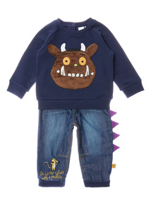 Navy Gruffalo 2 Piece Set (0-24 months)
