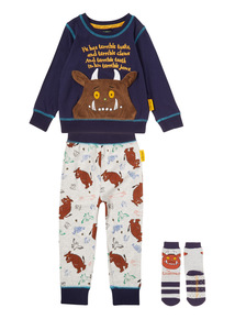 Navy Gruffalo Pyjama & Sock Set (9 months - 5 years)
