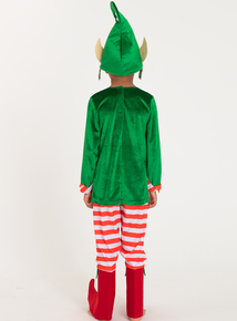 Christmas Santa's Helper Fancy Dress Costume (1-10 Years)