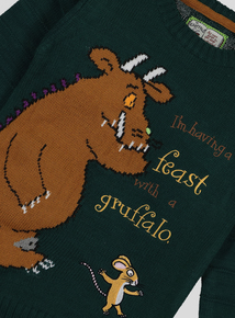 The Gruffalo Green Knit Jumper (9 months - 6 years)