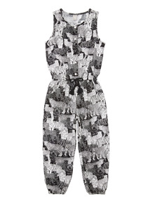 Girls Patterned Jumpsuit (3-12 years)
