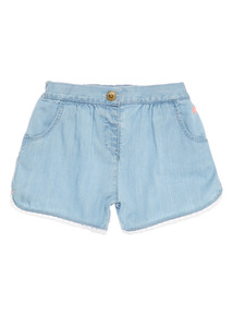 Denim Chambray Shorts (9 months - 6 years)